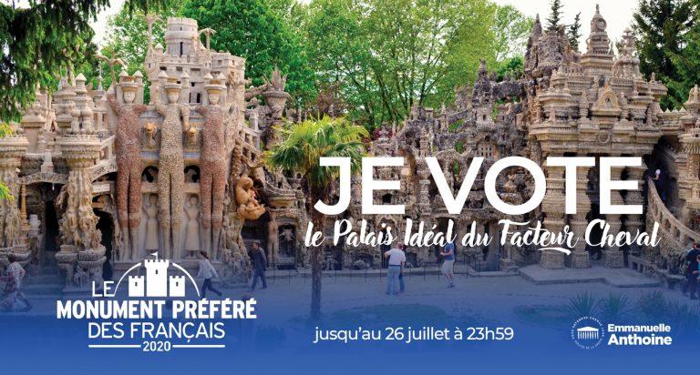 Mobilisation pour que le Palais idéal du facteur Cheval soit désigné «Monument préféré des Français»