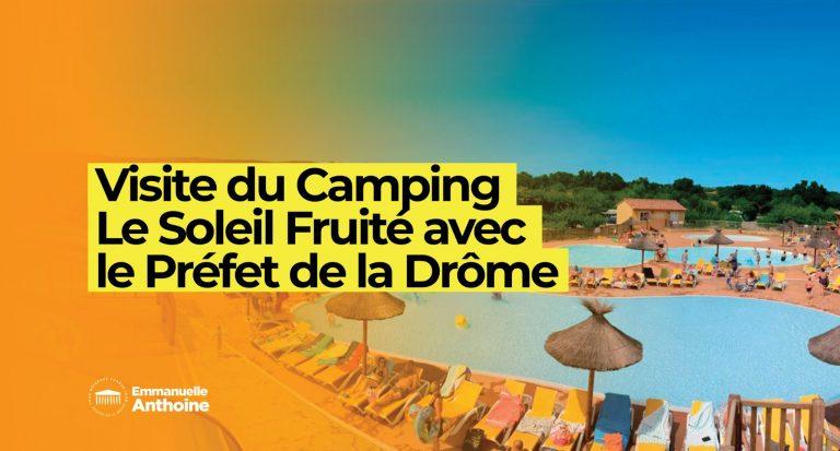 Visite du « Camping le Soleil Fruité »