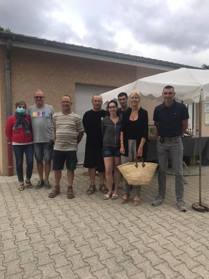 « Marché d'été à la ferme », organisé par le Gaec Baraton à Chateauneuf de Galaure