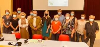 Ravie de reprendre les AG des associations avec l'ADMR Peyrins-Genissieux et Hau